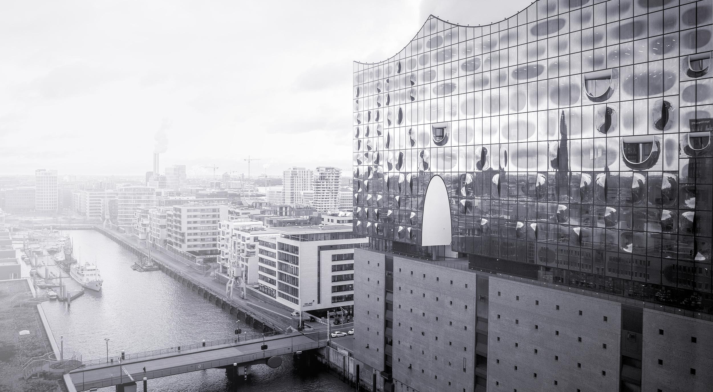 Elbphilharmonie und HafenCity